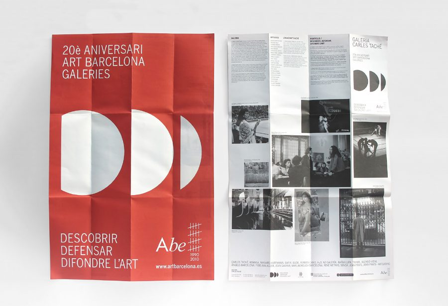 Desplegable informativo Art Barcelona