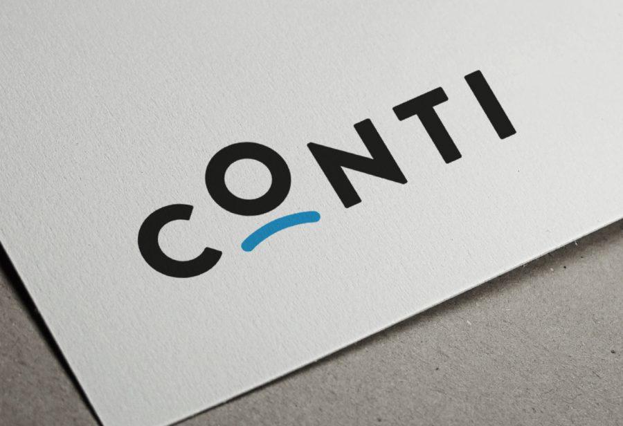 Detalle del logotipo Conti Economía Personal