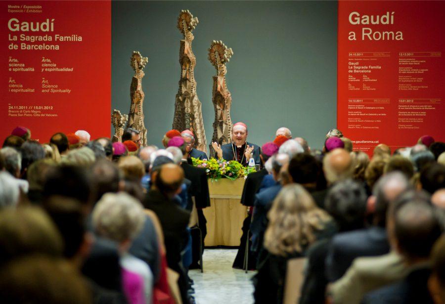 Evento Gaudí a Roma