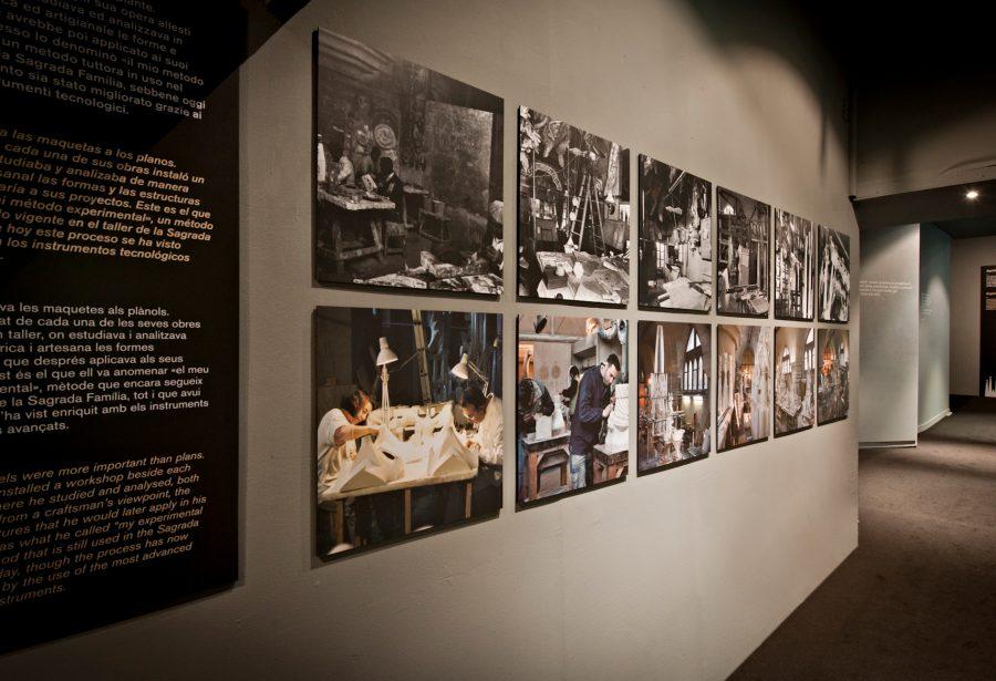 Fotografías de la exposición. Gaudí: La Sagrada Familia de Barcelona. Arte, ciencia y espiritualidad