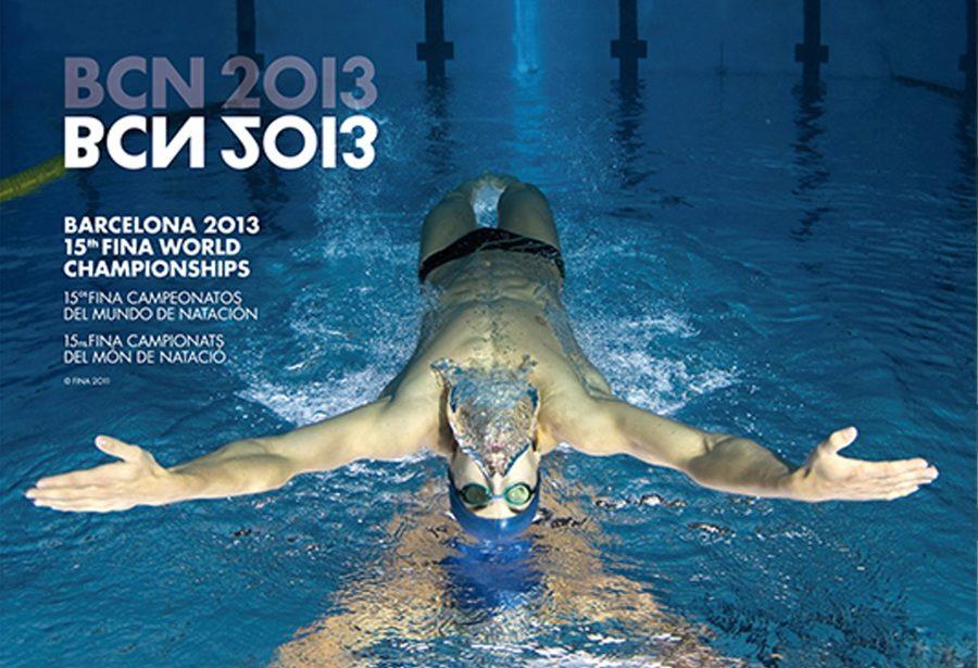 Diseño gráfico y comunicación BCN 2013 15th FINA Campeonatos del Mundo de Natación