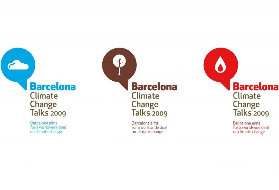 Logotipos para la Barcelona Climate Change Talks 2009