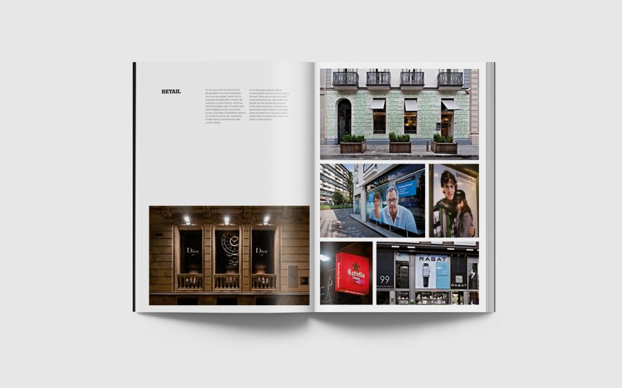 Interior del catálogo corporativo