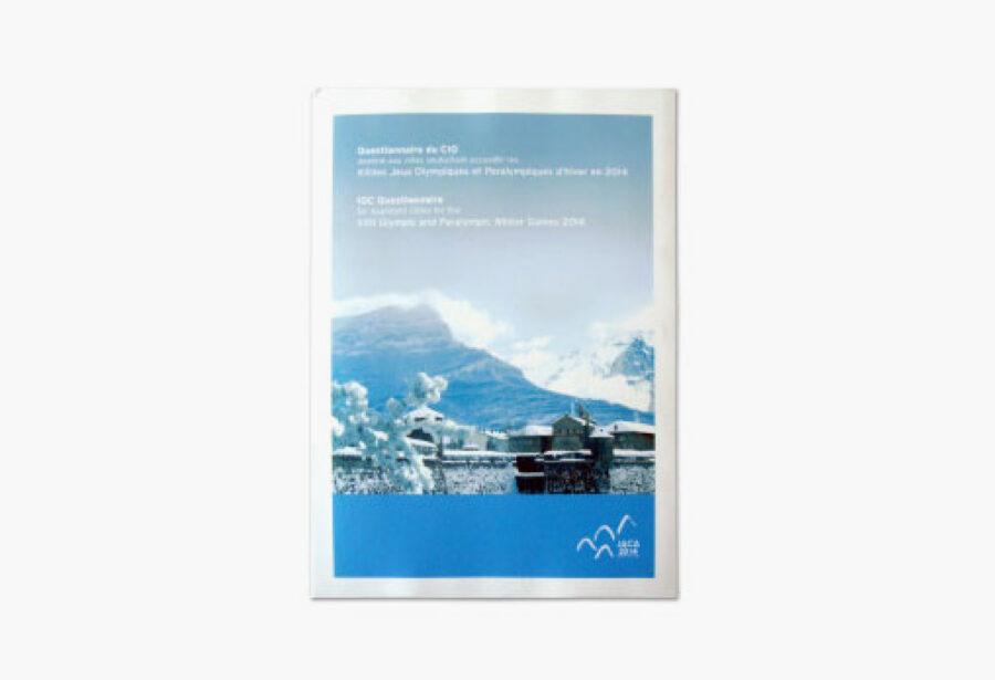 Portada Dosier de candidatura XXII Juegos Olímpicos de Invierno