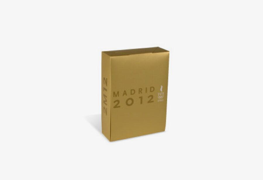 Packaging del Dosier de Candidatura de los Juegos Olímpicos. Madrid 2012