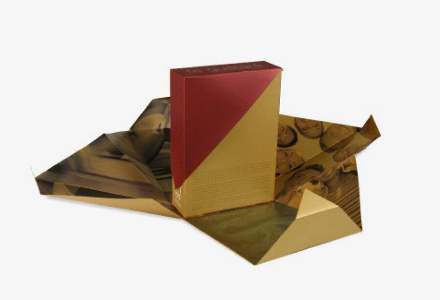 Packaging abierto del Dosier de Candidatura de los Juegos Olímpicos.