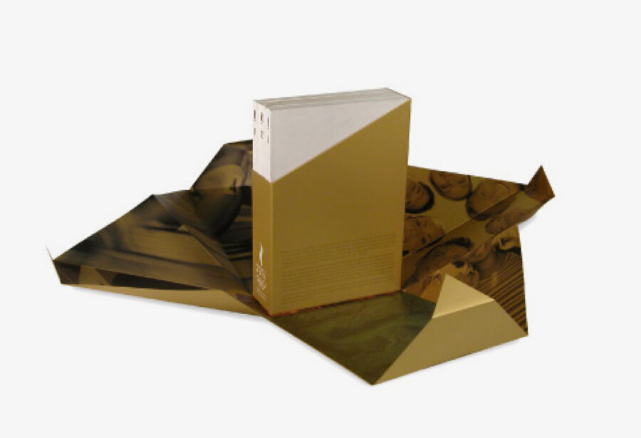 Packaging del Dosier de Candidatura de los Juegos Olímpicos.
